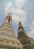 Wat Arun Thai Temple em Banguecoque Fotografia de Stock Royalty Free