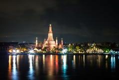 Wat Arun Thai Temple en Bangkok Fotos de archivo libres de regalías
