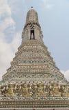 Wat Arun Thai Temple en Bangkok Foto de archivo libre de regalías
