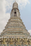 Wat Arun Thai Temple en Bangkok Fotografía de archivo libre de regalías