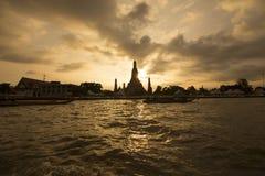 Wat Arun Thailand Arkivfoton