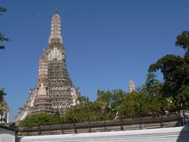 Wat Arun in Thailand. One of the most famous temples in Bangkok Stock Photos