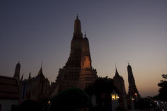 Wat Arun_Twilight Royalty Free Stock Images