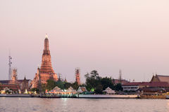 Wat arun in twilight time Royalty Free Stock Images