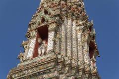 Wat Arun w Bangkok - świątynia świt Obraz Royalty Free