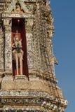 Wat Arun w Bangkok - świątynia świt Zdjęcia Royalty Free