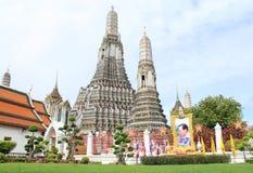Wat Arun w Bangkok Obraz Royalty Free