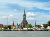 Wat Arun w Bangkok, Tajlandia obrazy royalty free