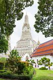 Wat Arunratchawararam寺庙 免版税库存照片