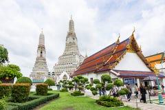 Wat Arunratchawararam Temple Images libres de droits
