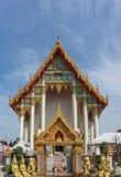 Wat ArWut (武器寺庙)在曼谷,泰国 库存图片