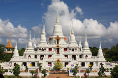 Wat Asokaram, Sumutpakran , thailand Stock Image