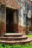 Wat, Ayutthaya, Tailandia Fotografía de archivo