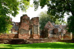 Wat, Ayutthaya, Tailandia Foto de archivo