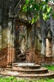 Wat, Ayutthaya, Tailandia Imagen de archivo