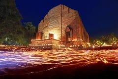 Wat Ayutthaya Thailand arkivbild