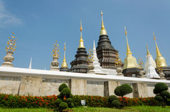 Wat Baan Den,Temple of Chiang Mai Thailand Royalty Free Stock Photography