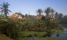 Wat Bakong lying near Siem Rap Royalty Free Stock Photos