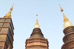 Wat Ban Den beautiful and famous Thai temple, Chiangmai, Northern Thailand. Thai temple, Wat Ban Den beautiful and famous Thai temple, Chiangmai, Northern Stock Photos