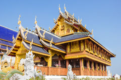 Wat Ban den in district Maetang province Chiangmai Thailand Stock Image
