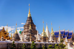 Wat ban den temple Royalty Free Stock Photography