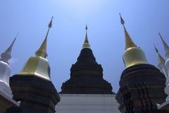 Wat Ban Den, templo budista da arquitetura antiga em Chiangmai, Tailândia fotos de stock