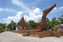 Wat Ban Na Muang Buddhist tempel Ubon Ratchathani Thailand Royaltyfria Foton