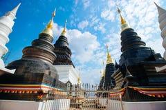 Wat-Banden 2015年12月17日: 免版税图库摄影