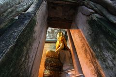 Wat Bang Kung que sorprende, Tailandia Imagen de archivo libre de regalías