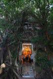 Wat Bang Kung que sorprende, Tailandia Foto de archivo libre de regalías