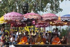 Wat Bang Phra Wai Khru Day Royalty Free Stock Photos