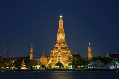 wat bangkok arun Стоковая Фотография