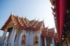 Wat Benchamabophit (μαρμάρινος ναός) Στοκ εικόνα με δικαίωμα ελεύθερης χρήσης