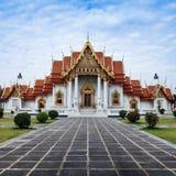 Wat Benchamabophit ο μαρμάρινος ναός Στοκ Εικόνες