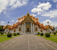 Wat Benchamabophit Arkivbilder
