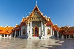 Wat Benchamabophit. In Bangkok, Thailand royalty free stock photos