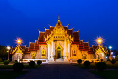 Wat Benchamabophit Stockfoto