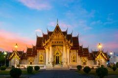 Wat Benchamabophit Stock Foto's
