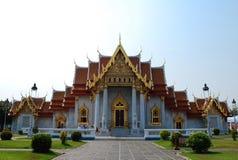 Wat Benchamabophit Arkivfoton