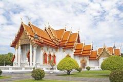 Wat Benchamabophit, Bangkok. Fotografia Stock