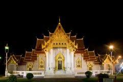 Wat Benchamabophit in Bangkok, Thailand Stock Images