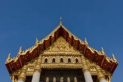 Wat Benchamabophit in Bangkok, Thailand Lizenzfreies Stockfoto