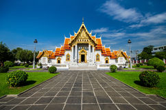 Wat Benchamabophit, Bangkok, Thailand Royalty Free Stock Photography