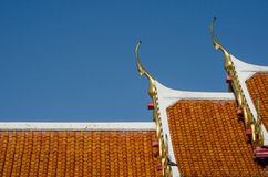 Wat Benchamabophit in Bangkok, Thailand. Stock Photography