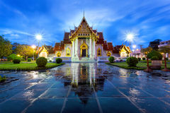Wat Benchamabophit in Bangkok Royalty Free Stock Photos