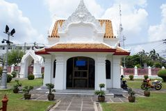 Wat Benchamabophit complex. The Marble Temple in Dusit, Bangkok, Thailand, Asia Royalty Free Stock Images