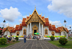 Wat benchamabophit dusitvanaram lizenzfreie stockfotos