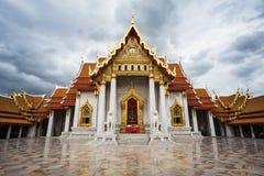 Wat Benchamabophit Dusitvanaram in Bangkok,  Thailand Royalty Free Stock Photos