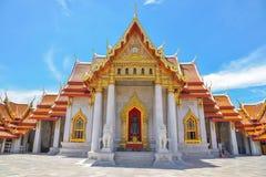 Wat Benchamabophit Dusitvanaram is a Buddhist temple. Wat Benchamabophit Dusitvanaram is a Buddhist temple in Bangkok, Thailand Royalty Free Stock Images