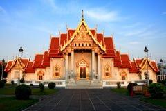 Wat Benchamabophit Dusitvanaram (el templo de mármol) Fotografía de archivo libre de regalías